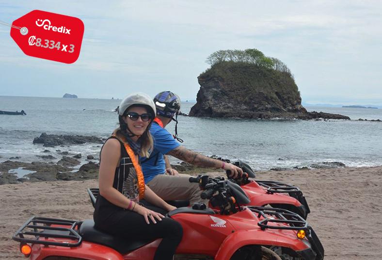 Pininos, Adventures, tour, cuadraciclo, bosque, seco, playas, guía, bahía, agua
