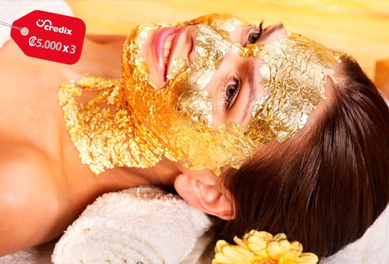 prana, spa, salud, belleza, tratamiento, mascarilla, oro, masaje, limpieza, piel