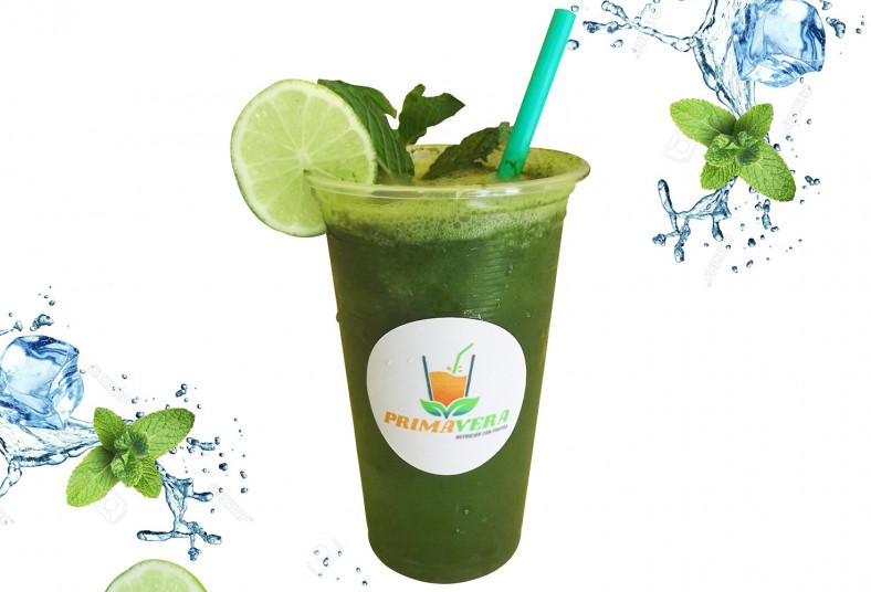 primavera, nutrición, frutas, limonada, hierbabuena, funcional, refrescante,