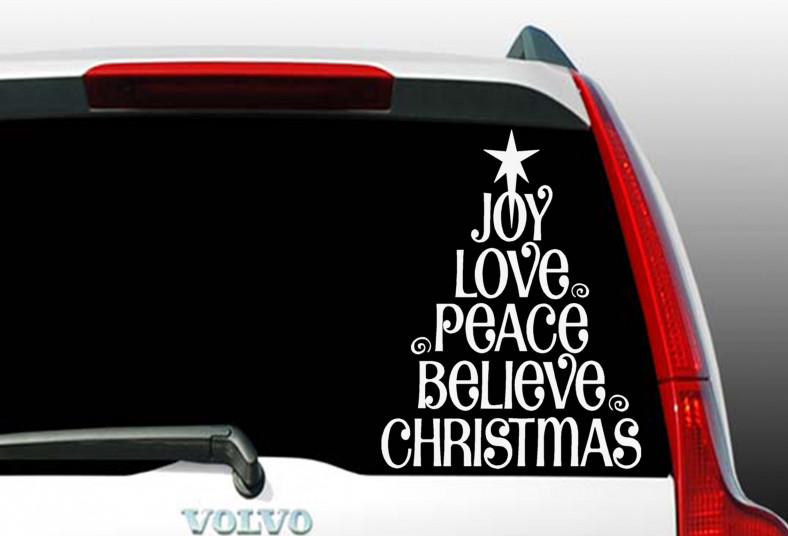 printtico, vinilo, decorativo, navidad, hogar, vehículo, comercio, decoración,