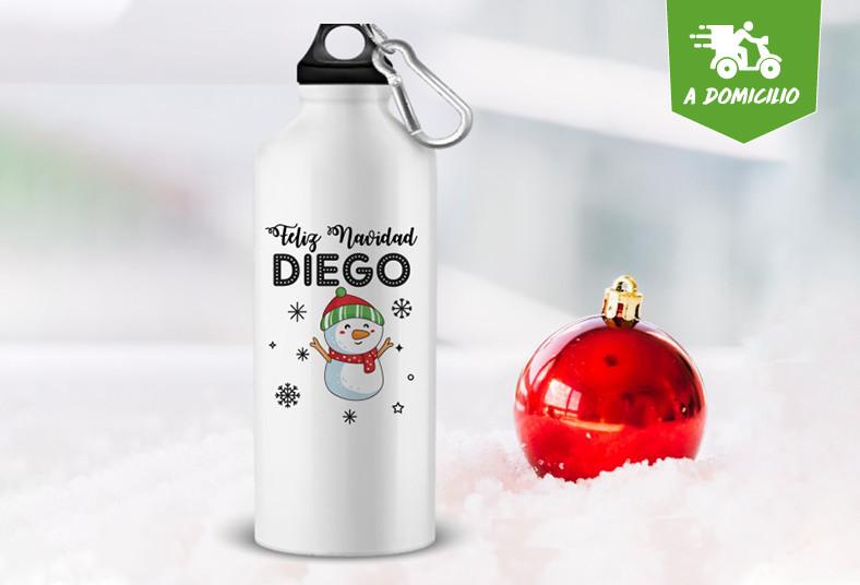 Publicidad, Marketing, Eco, taza, botella, personalizada, aluminio, blanca, papá