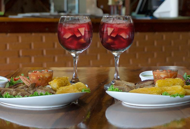 Restaurante, Rancho, Arizona, costilla, camarones, sangría, valentín, cena, amor