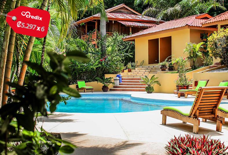 Ritmo, Tropical, malpaís, desayuno, piscina, naturaleza, bungalow.