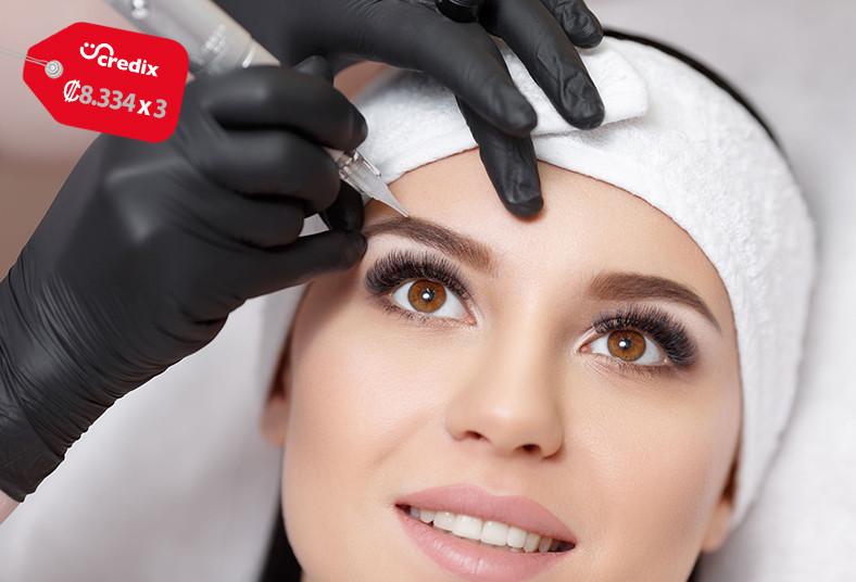 saasi, estética, micropigmentación, cejas, compactas, color, mirada, mujer,