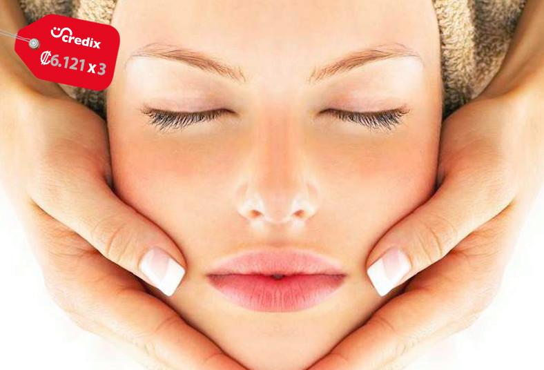Salud, estética, limpieza, facial, profunda, tratamiento, bolsas, ojeras, piel,