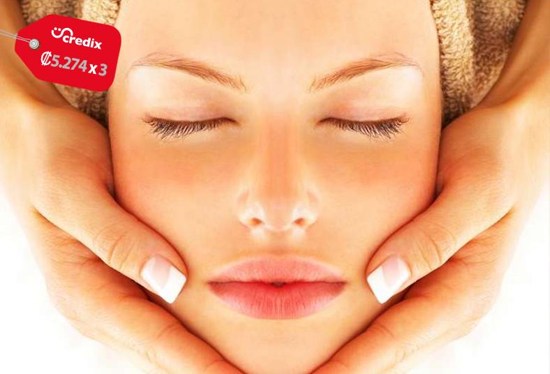 Salud, estética, hidratación, profunda, exfoliación, mascarilla, masaje, rostro,