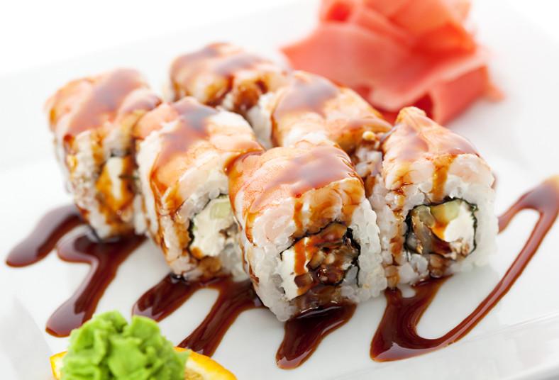 Restaurante, Japones, Sapporo, sushi, comida, nevado, especial, rollo, alaska