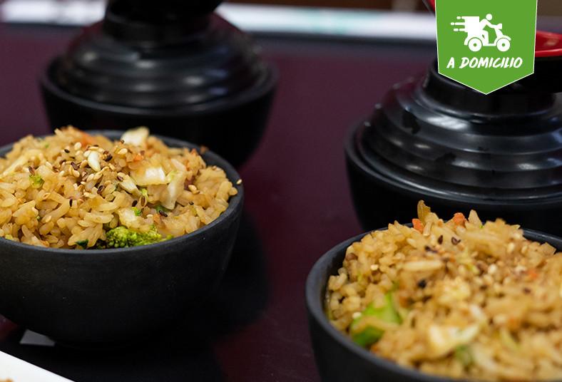 Restaurante, Japones, Sapporo, sopa, miso, papas, fritas, arroz, frito, té, frío