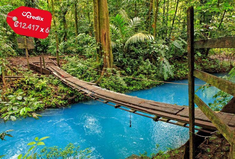 SinwaTourDreams, Monteverde, Express, Shuttle, tour, cabalgata, río, celeste,