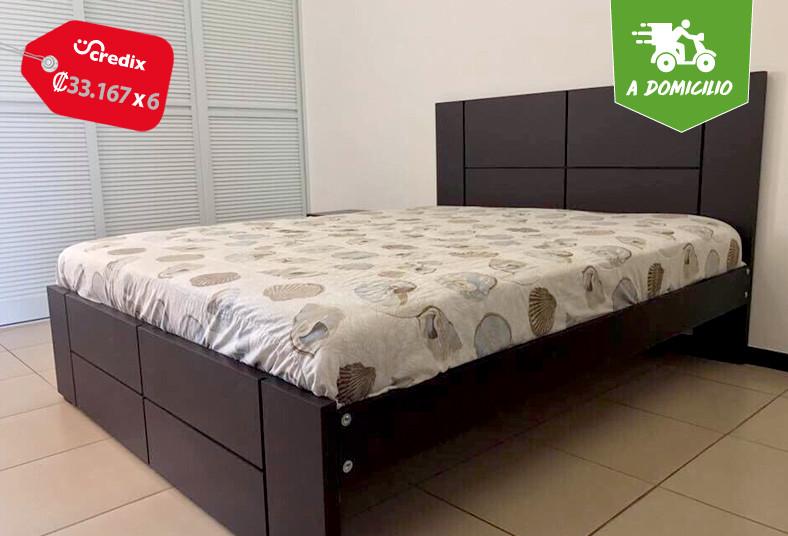 canella, designs, colchón, sleepland, garantía, cama, pino, chileno, madera, new
