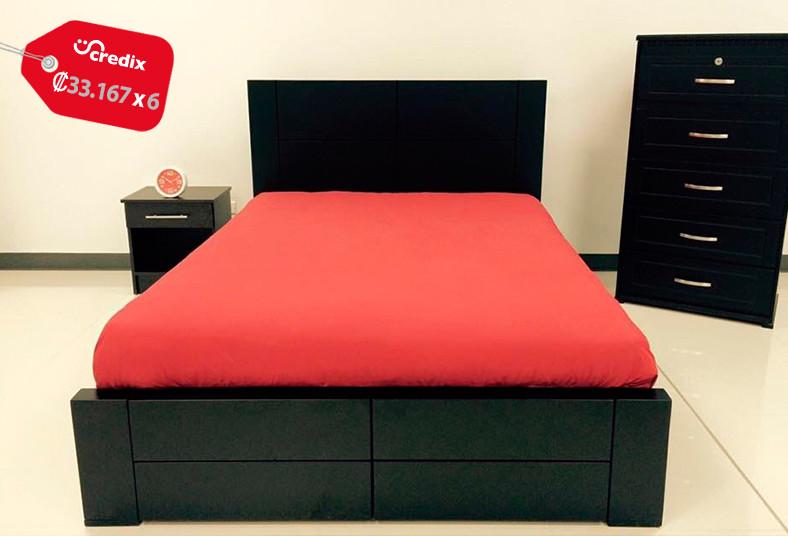 Cambi tu cama por una de verdad cama new con colch n a for Hipo muebles