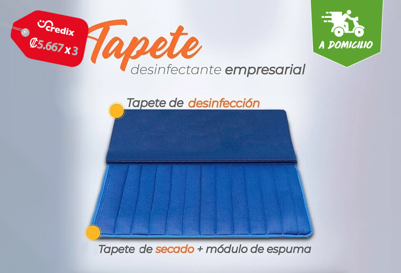 colchones, sleepy, tapete, desinfectante, empresarial, virus, bacterias, velcro