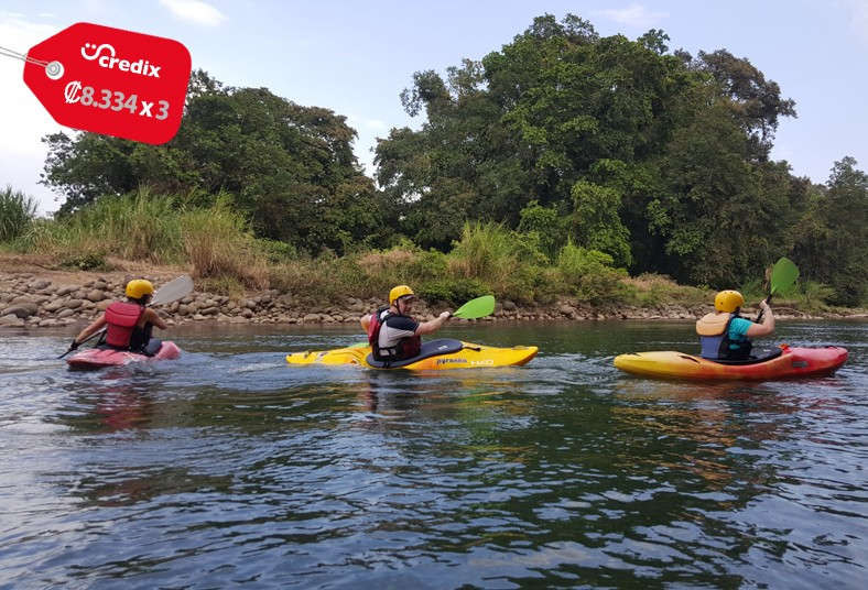 Sarapiqui, outdoor, center, tour, kayak, diversión, amigos, familia, adrenalina