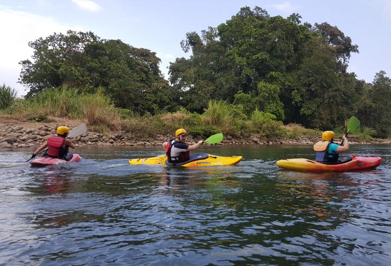 Sarapiqui, outdoor, center, tour, kayak, diversión, amigos, familia, adrenalina