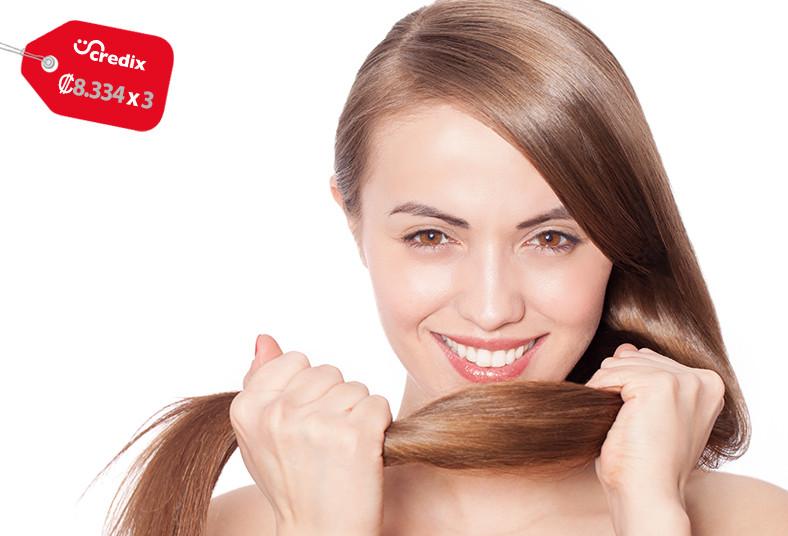 solaris, c.p.r, shampoo, blower, plancha, media, espalda, cabello, hidratación,