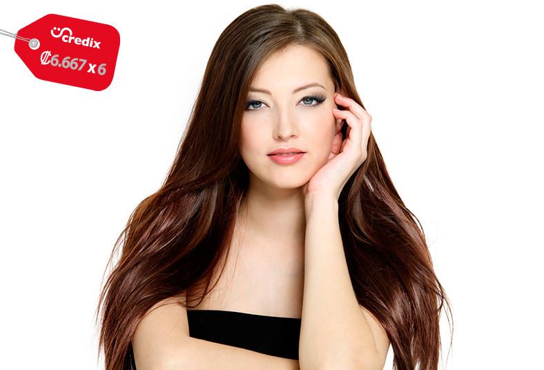 centro, bronceado, solaris, cabello, largo, secado, lavado, sellado, brillo