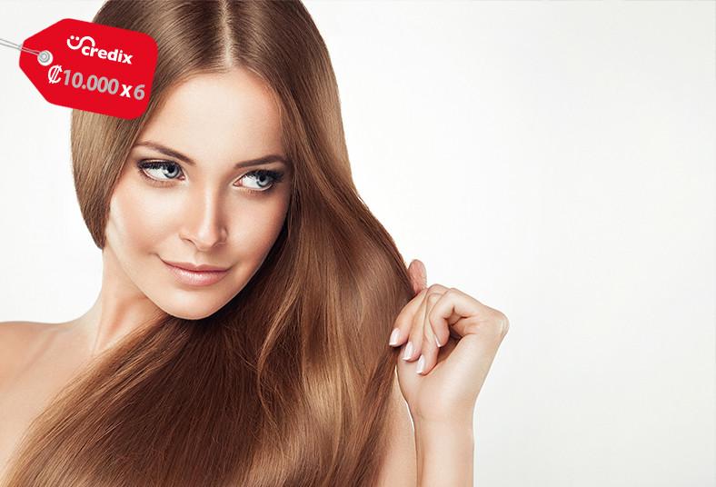 solaris, alisado, japonés, permanente, cualquier, largo, cabello, brillo, lacio