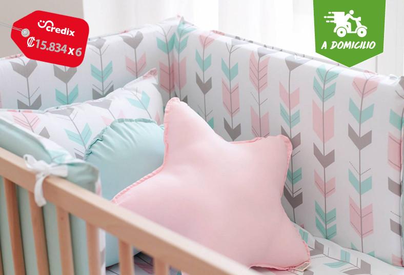 colchones, sleepy, set, decoración, cuna, bebé, colecho, almohada, lactancia