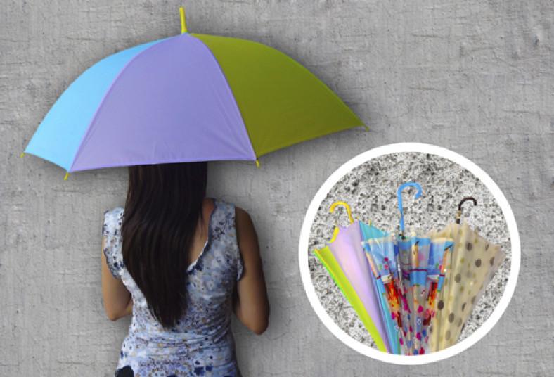 vívido y de gran estilo Descubrir último vendedor caliente Preparado para las fuertes lluvias? Finas sombrillas y ...