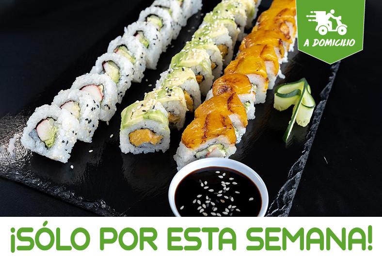 k, sushi, california, tico, chicken, vegetal, nevado, spicy, tuna, piezas, rollo