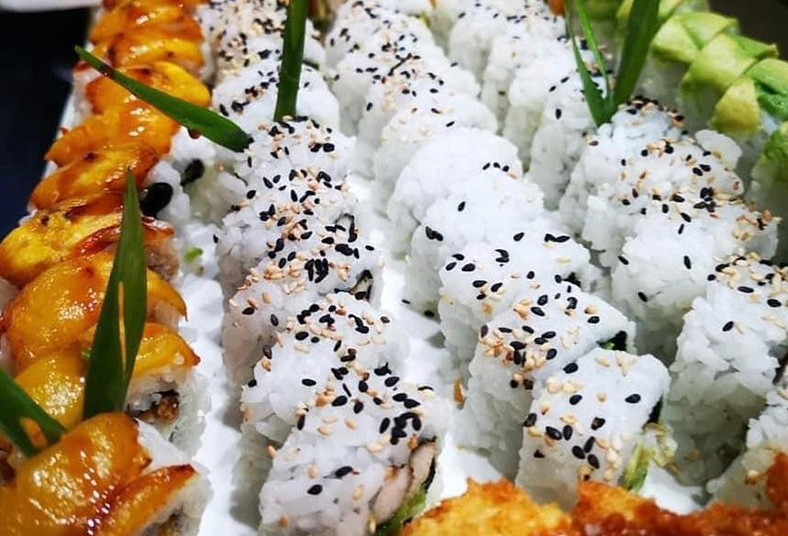k, sushi, california, tico, chicken, vegetal, especial, sopa, miso, té, frío,