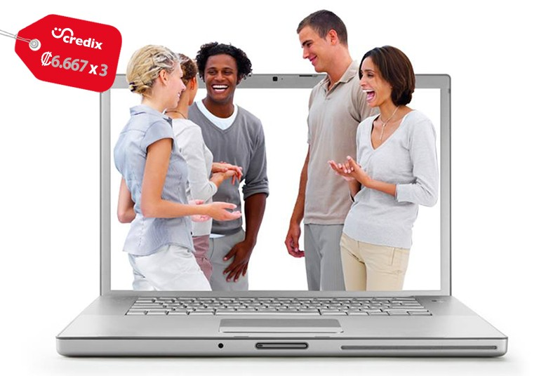 talking, cloud, clases, online, inglés, personas, tablet, celular, computadora,