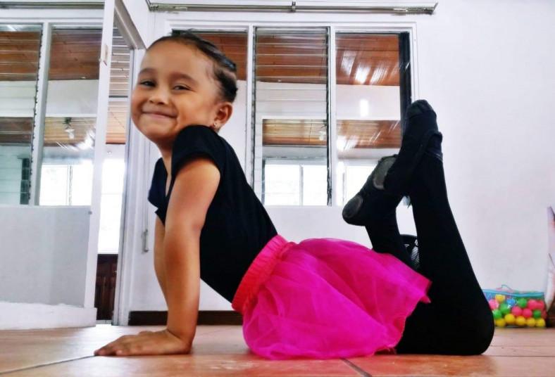Tempo, Academia, Artes, ballet, clases, niñas, primer, ejercicio, movimiento,