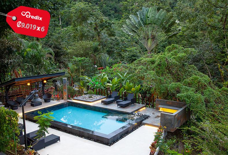 Tifakara, fortuna, desayuno, naturaleza, animales, burbuja, descanso, piscina