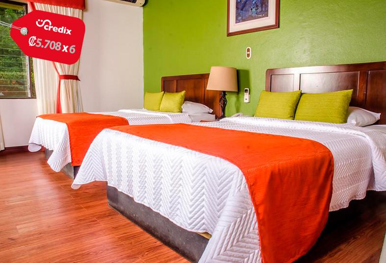 tilajari, hotel, resort, habitación, junior, suite, pareja, desayuno, balcón,