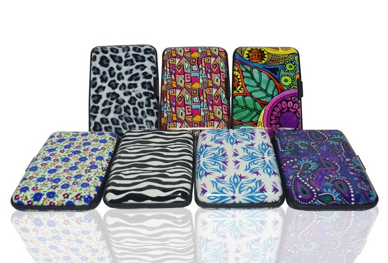 Titicupon, billetera, cubierta, aluminio, compacta, agua, tarjetas, dinero,