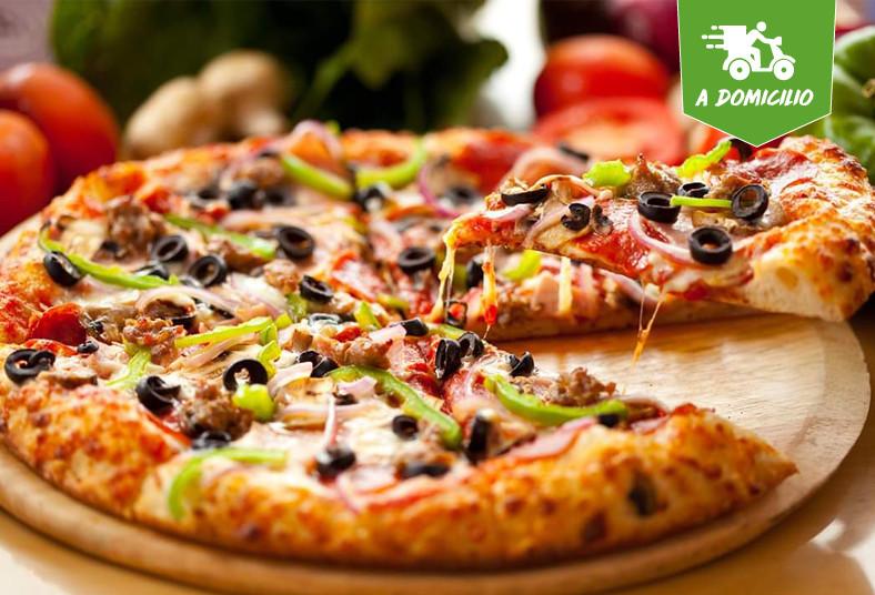 toni's, pizza, medianas, sabor, margarita, pollo, barbacoa, tocineta, suprema,