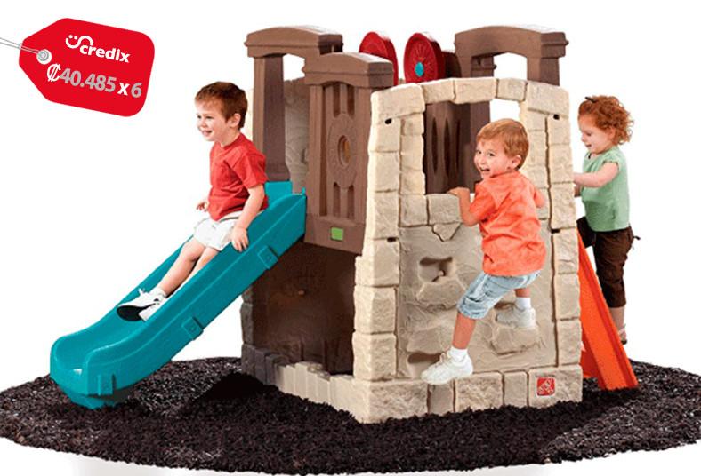 Jugueterías, TOYS, trepador, tobogán, imitación, madera, niños, diversión, jugar