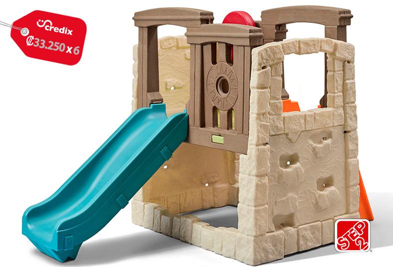 Jugueterías, TOYS, trepador, tobogán, madera, imitación, diversión, jardín, casa