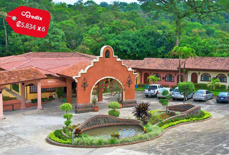 Hotel, Tucano, Resort, Thermal, Spa, senderos, gimnasio, río, piscinas, jacuzzi