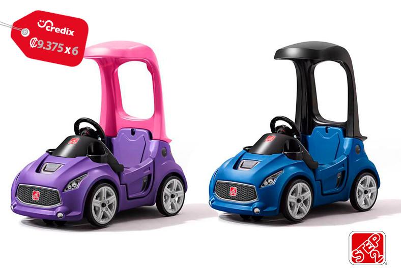 Jugueterías, TOYS, Turbo, Coupé, Azul, pies, suelo, niños, transporte, buggy