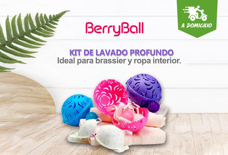 Viarsa, Textil, Berry, Ball, Kid, burbuja, bolita, ropa, íntima, funda, lavado