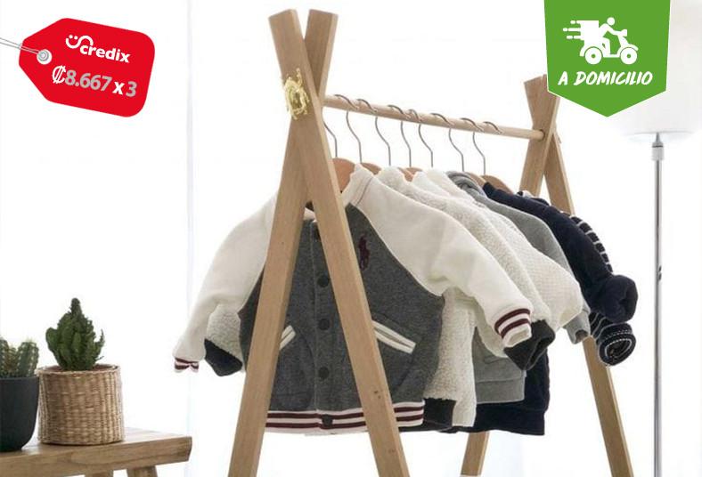 vintage, bogama, closet, niños, madera, garantía, cuarto, espejo