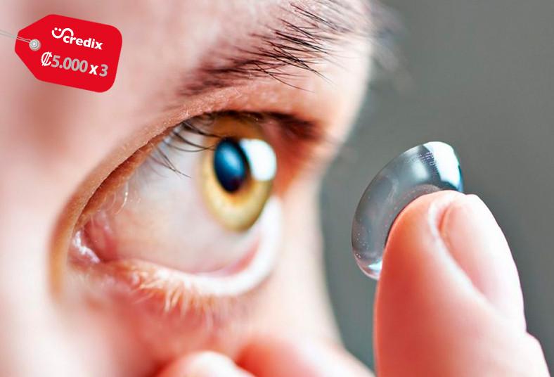 clínica, salud, visual, caja, lentes, contacto, aquasoft, desechables, esféricos