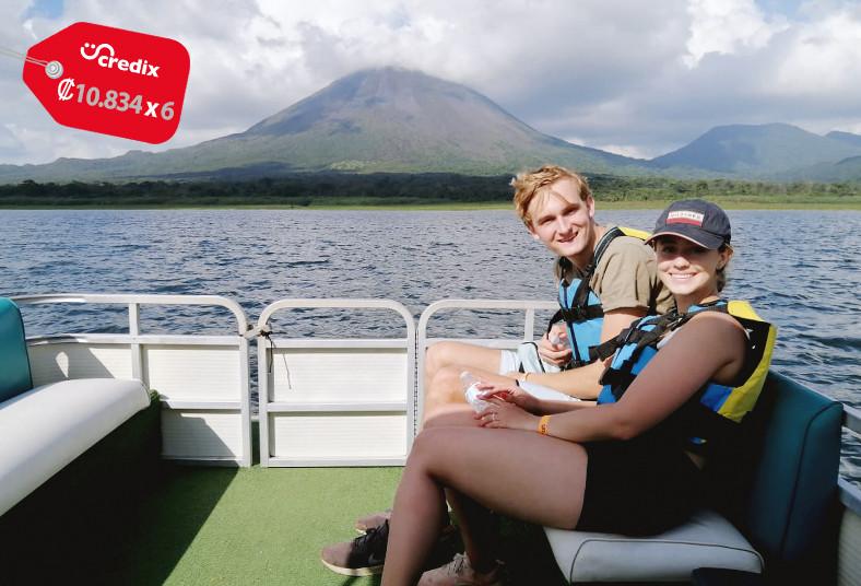 Water, Bikes, Tours, paseo, lancha, lago, volcán, arenal, agua, fotografías,
