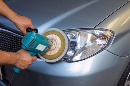 car, center, pulido, carro, focos, limpieza, vehículo, auto, luces,